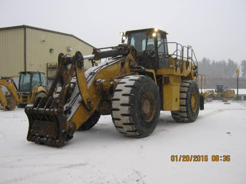 CATERPILLAR CHARGEURS SUR PNEUS MINES 988H equipment  photo 4