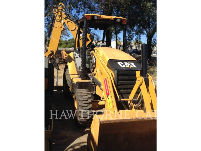 CATERPILLAR BACKHOE LOADERS 416F 2WD equipment  photo 3