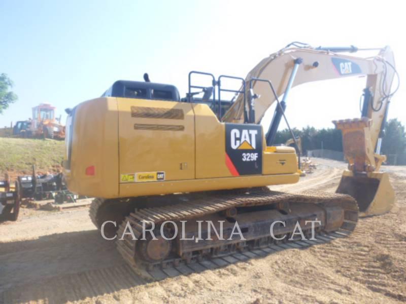 CATERPILLAR TRACK EXCAVATORS 329FL TH equipment  photo 5