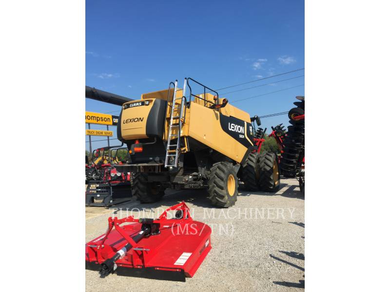 LEXION COMBINE AG TRACTORS LX580R equipment  photo 2