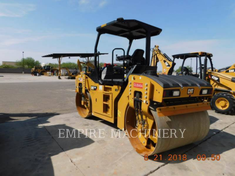 CATERPILLAR COMPACTEURS TANDEMS VIBRANTS CB7 equipment  photo 3