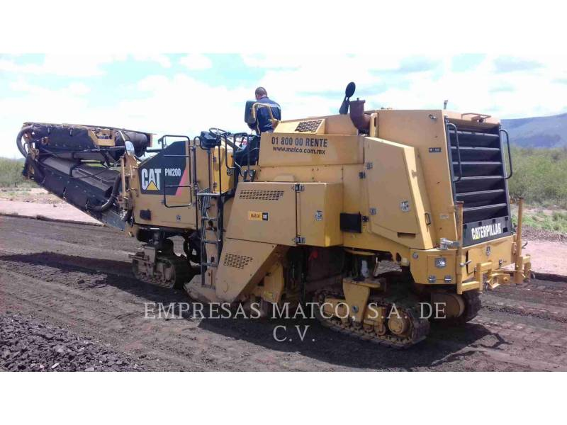 CATERPILLAR COLD PLANERS PM-200 equipment  photo 2