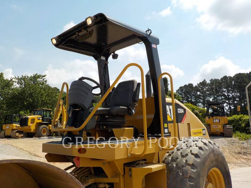CATERPILLAR EINZELVIBRATIONSWALZE, GLATTBANDAGE CS-54 equipment  photo 2