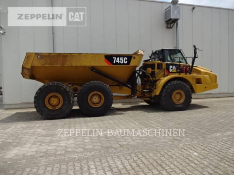 CATERPILLAR KNICKGELENKTE MULDENKIPPER 745C equipment  photo 6