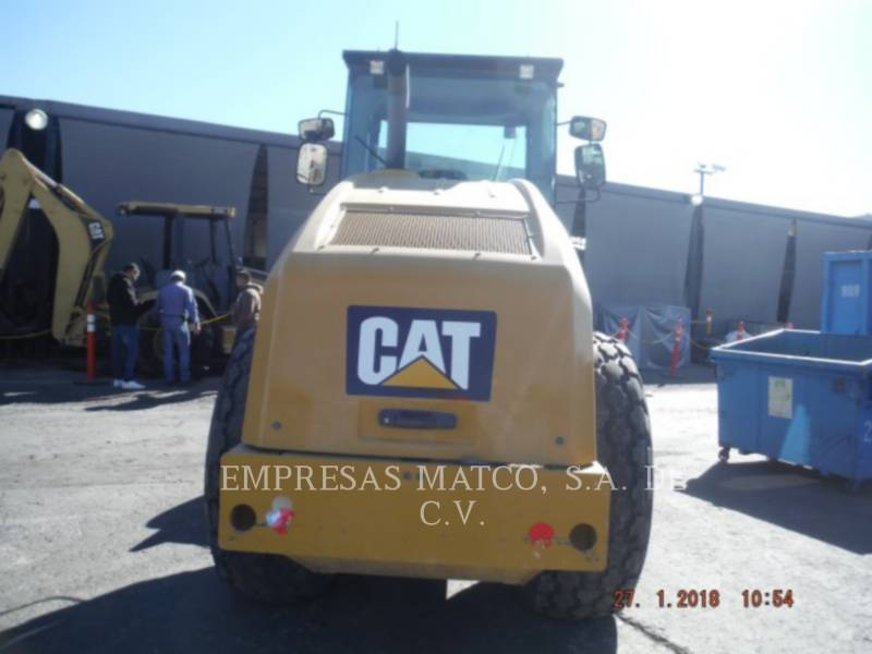 CATERPILLAR COMPATTATORE A SINGOLO TAMBURO VIBRANTE LISCIO CS 56 B equipment  photo 4