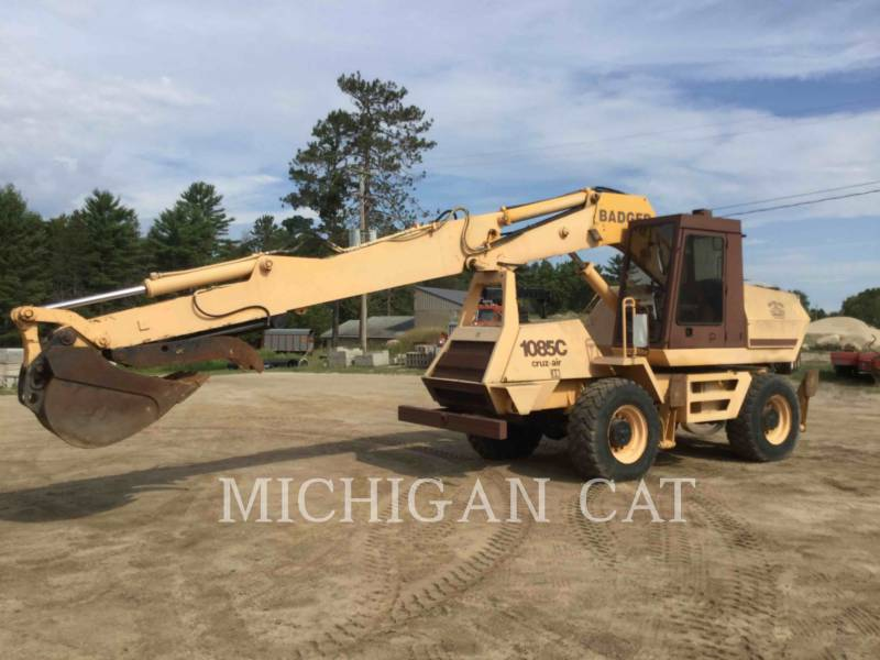 CASE ESCAVATORI GOMMATI 1085 BADGER equipment  photo 1