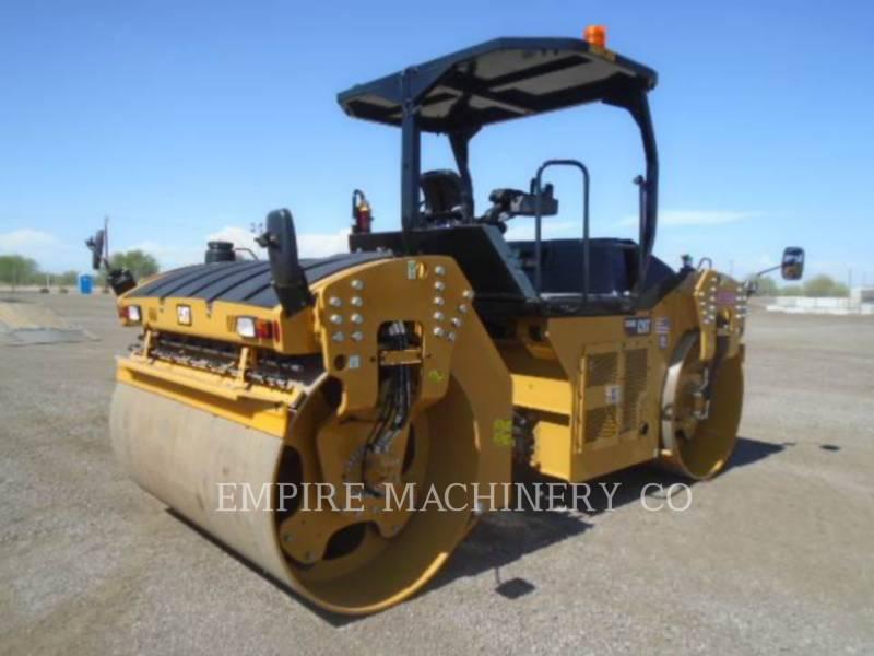 CATERPILLAR TANDEMOWY WALEC WIBRACYJNY DO ASFALTU (STAL-STAL) CB66B equipment  photo 2