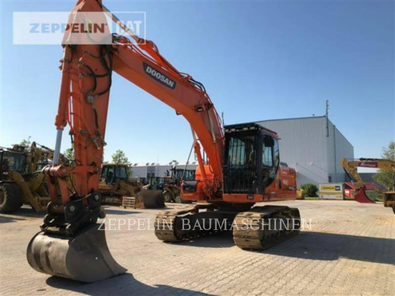 DOOSAN INFRACORE AMERICA CORP. TRACK EXCAVATORS DX180 equipment  photo 6