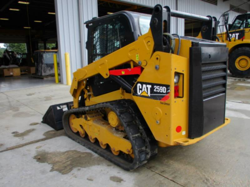 CATERPILLAR MULTITERREINLADERS 259D equipment  photo 5