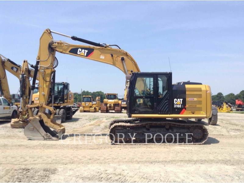 CATERPILLAR TRACK EXCAVATORS 316E L equipment  photo 7