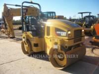 Equipment photo CATERPILLAR CB34B TANDEMOWY WALEC WIBRACYJNY DO ASFALTU (STAL-STAL) 1