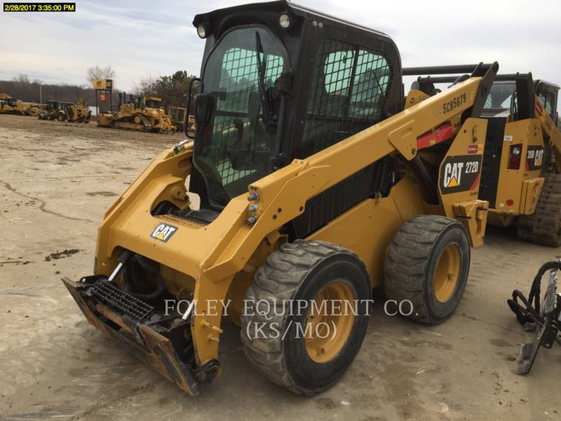 CATERPILLAR CHARGEURS COMPACTS RIGIDES 272DSTD2CA equipment  photo 2