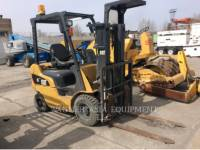 Equipment photo MITSUBISHI CATERPILLAR FORKLIFT DP15NT ELEVATOARE CU FURCĂ 1