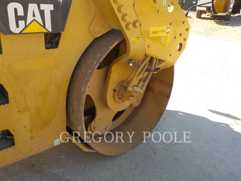 CATERPILLAR VIBRATORY DOUBLE DRUM ASPHALT CB-54 equipment  photo 20