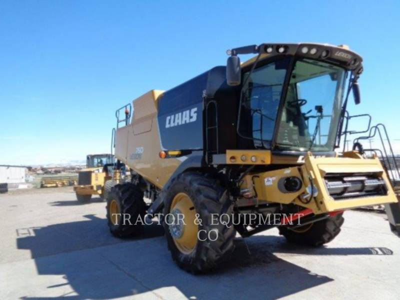 LEXION COMBINE COMBINES LX760 equipment  photo 3