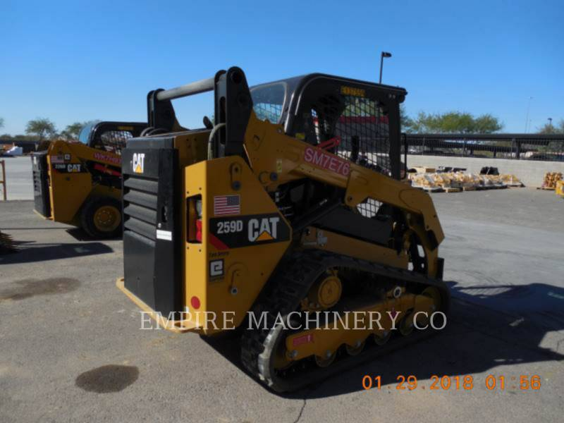 CATERPILLAR CHARGEURS COMPACTS RIGIDES 259D equipment  photo 2