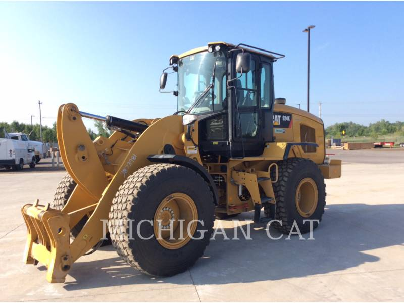CATERPILLAR WHEEL LOADERS/INTEGRATED TOOLCARRIERS 924K RQ equipment  photo 1