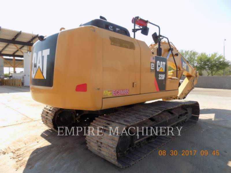 CATERPILLAR ESCAVATORI CINGOLATI 320FL equipment  photo 2