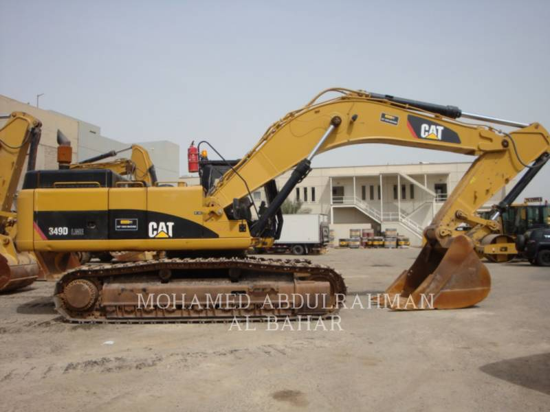 CATERPILLAR TRACK EXCAVATORS 349 D L (ME) equipment  photo 6