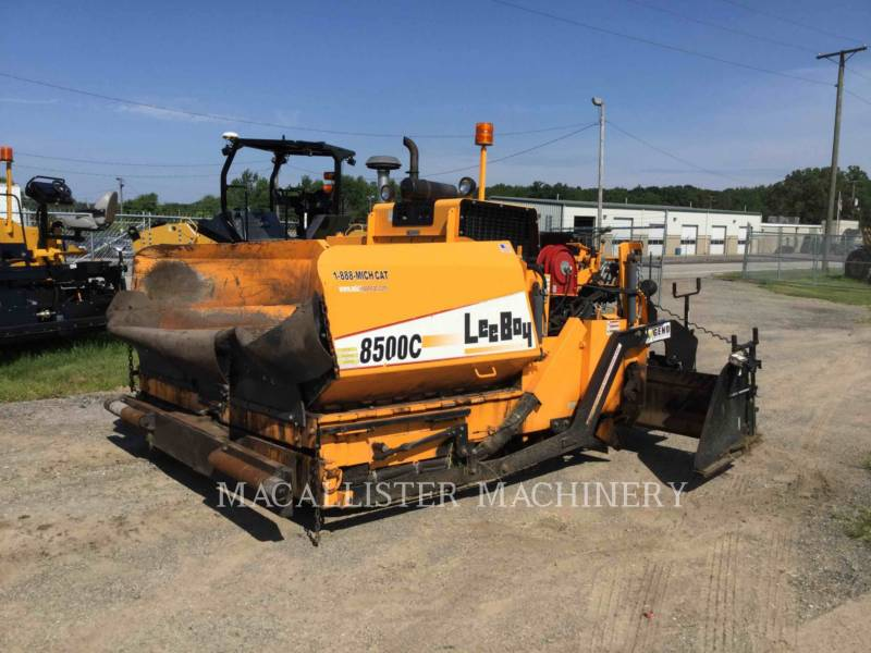 LEE-BOY ASPHALT PAVERS 8500C equipment  photo 1