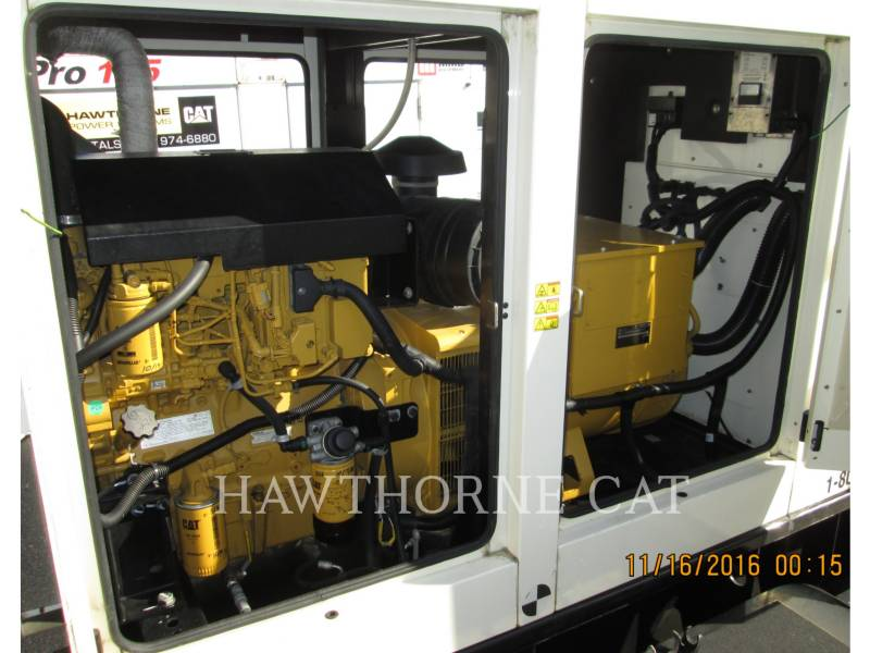 CATERPILLAR PORTABLE GENERATOR SETS XQ100 equipment  photo 5