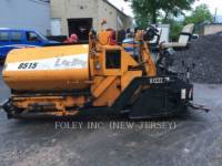 Equipment photo LEE-BOY 8515T ASPHALT PAVERS 1