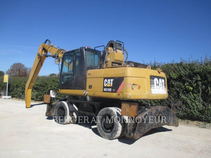 CATERPILLAR ESCAVATORI GOMMATI M318D MH equipment  photo 4
