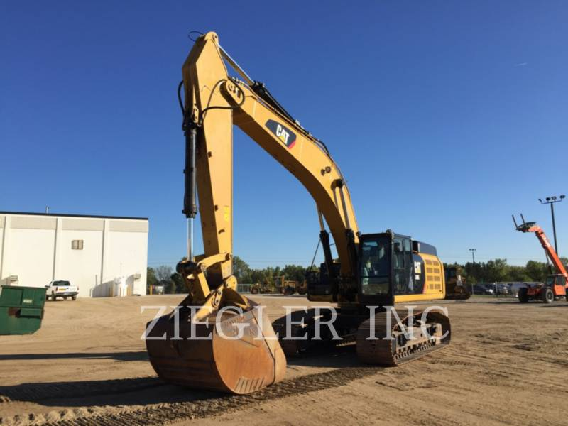 CATERPILLAR PELLES SUR CHAINES 349EVG equipment  photo 1