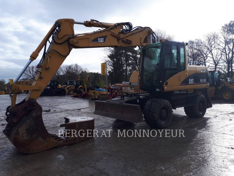 CATERPILLAR WHEEL EXCAVATORS M316C equipment  photo 12