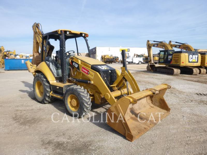 CATERPILLAR CHARGEUSES-PELLETEUSES 416F ST equipment  photo 6