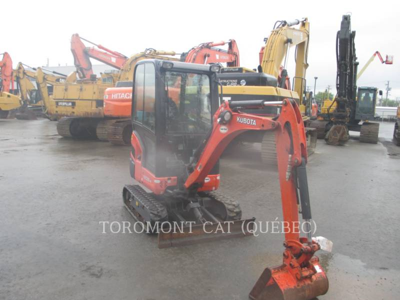 KUBOTA CANADA LTD. TRACK EXCAVATORS KX018 equipment  photo 2