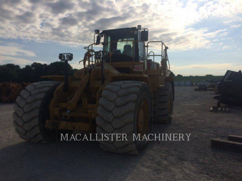 CATERPILLAR DOZER GOMMATI 834H equipment  photo 4