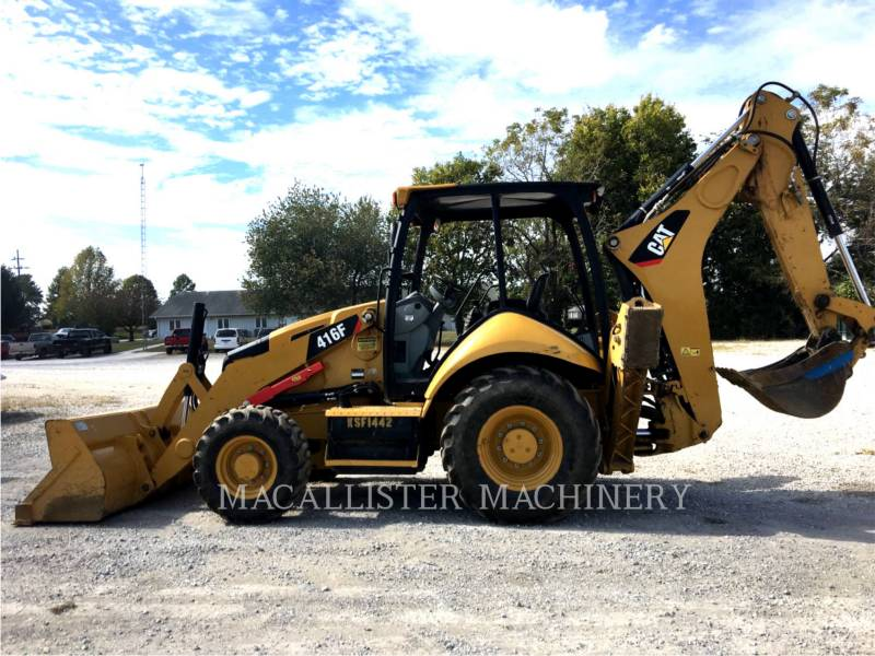 CATERPILLAR RETROEXCAVADORAS CARGADORAS 416 F equipment  photo 2