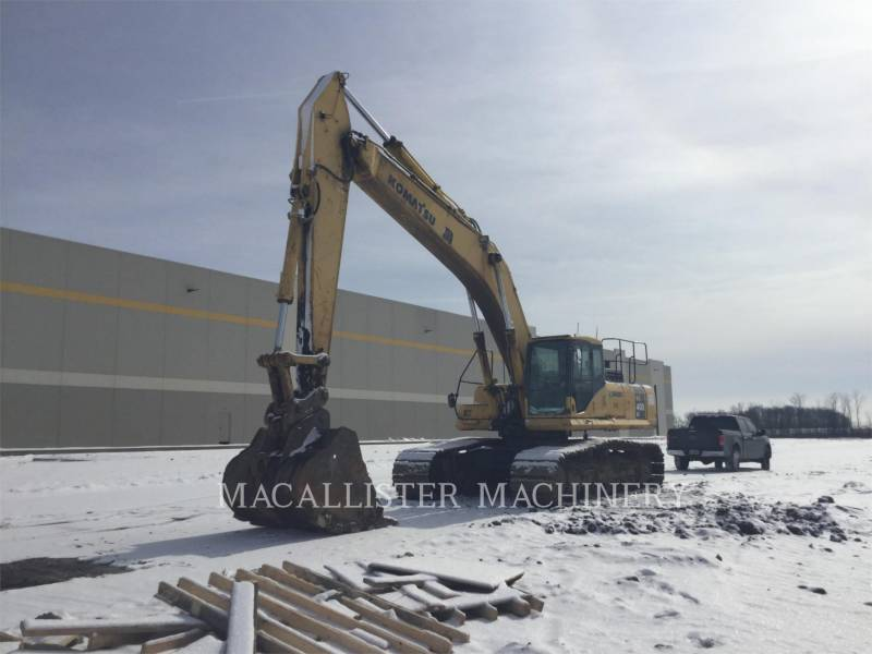 KOMATSU TRACK EXCAVATORS PC400LC-7L equipment  photo 3