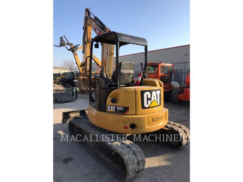 CATERPILLAR トラック油圧ショベル 305E2CR equipment  photo 3