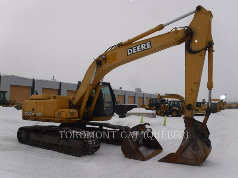 JOHN DEERE TRACK EXCAVATORS 200C equipment  photo 2