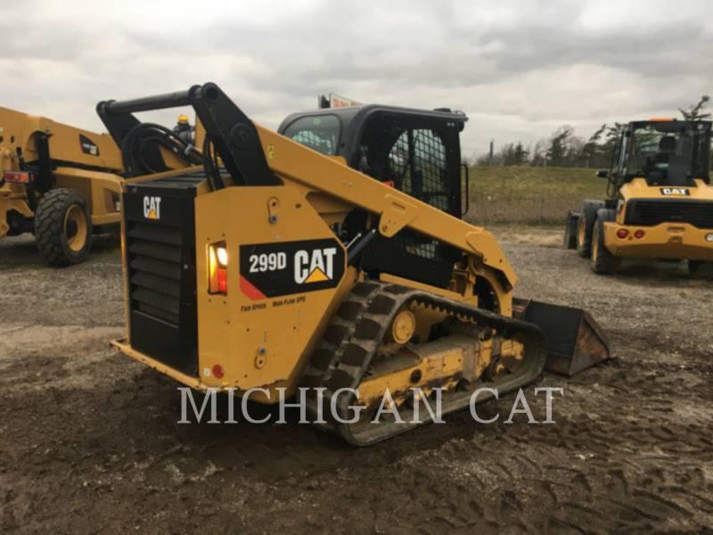 CATERPILLAR DELTALADER 299D equipment  photo 4