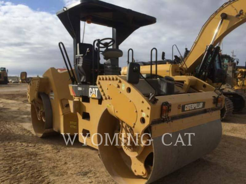 CATERPILLAR VIBRATORY DOUBLE DRUM ASPHALT CB54 equipment  photo 4