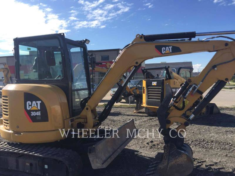 CATERPILLAR TRACK EXCAVATORS 304E C3 TH equipment  photo 1