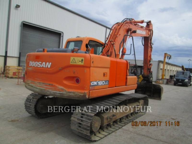 DOOSAN INFRACORE AMERICA CORP. PELLES SUR CHAINES DX180LC equipment  photo 4