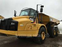 CATERPILLAR KNICKGELENKTE MULDENKIPPER 740B TG equipment  photo 1