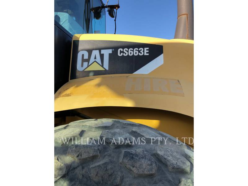 CATERPILLAR COMPACTEURS MIXTES CS663 equipment  photo 5