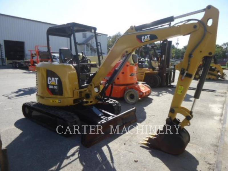 CATERPILLAR PELLES SUR CHAINES 303.5E2 CY equipment  photo 2
