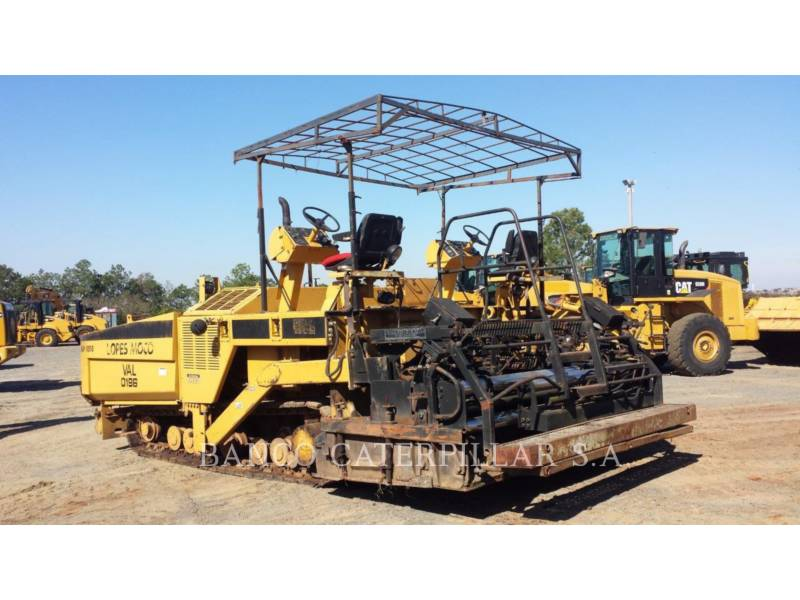 CATERPILLAR PAVIMENTADORA DE ASFALTO AP-1050 equipment  photo 7