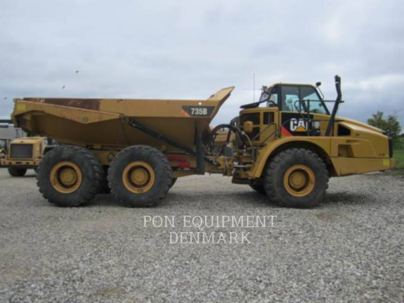 CATERPILLAR TOMBEREAUX DE CHANTIER 735B equipment  photo 3