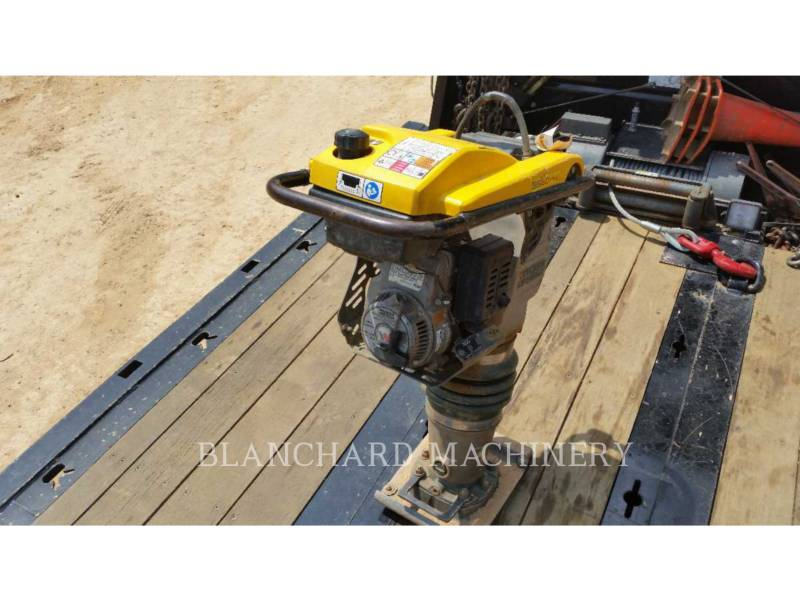 WACKER CORPORATION UL – COMPACTOR PLACĂ VIBRATOARE TAMPJJBS60 equipment  photo 1