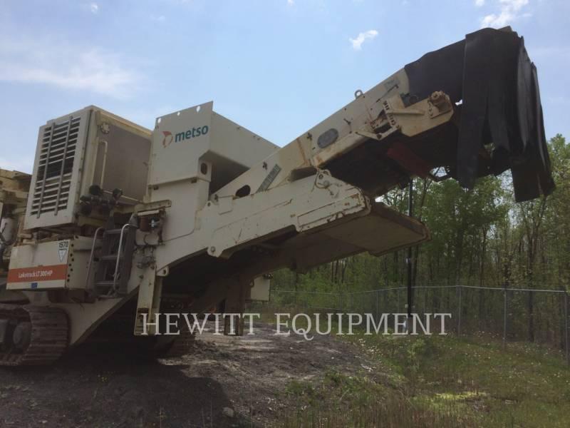 METSO CRUSHERS LT300HP equipment  photo 3