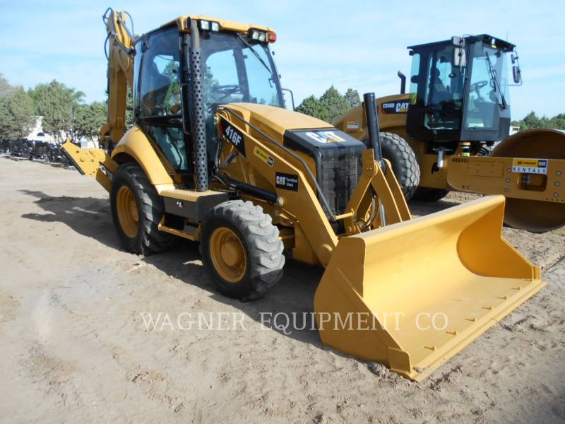 CATERPILLAR RETROEXCAVADORAS CARGADORAS 416F 4WD equipment  photo 1