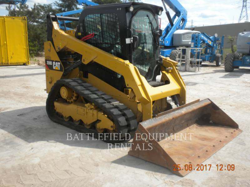 CATERPILLAR CARGADORES MULTITERRENO 259DLRC equipment  photo 3