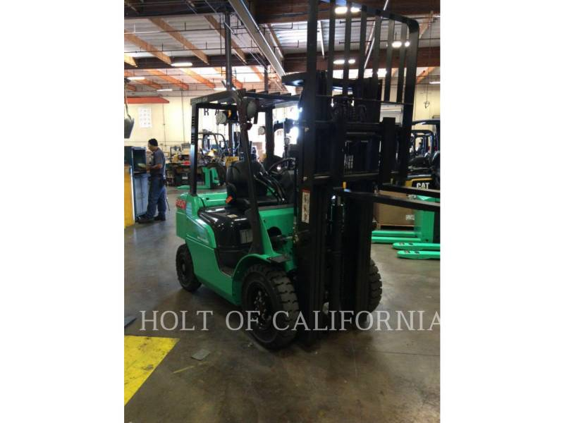 MITSUBISHI FORKLIFTS FORKLIFTS FD30N equipment  photo 1